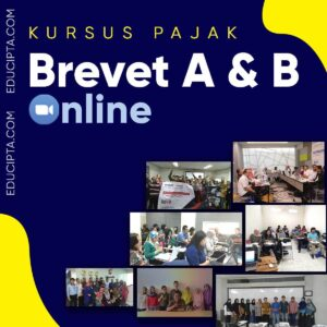 Kursus Brevet Pajak Online - Brevet AB Online Live Pembelajaran - Educipta.com